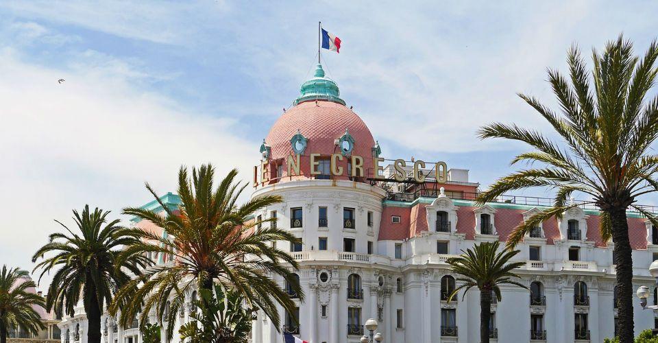Le Negresco sur la Promenade des Anglais, Nice