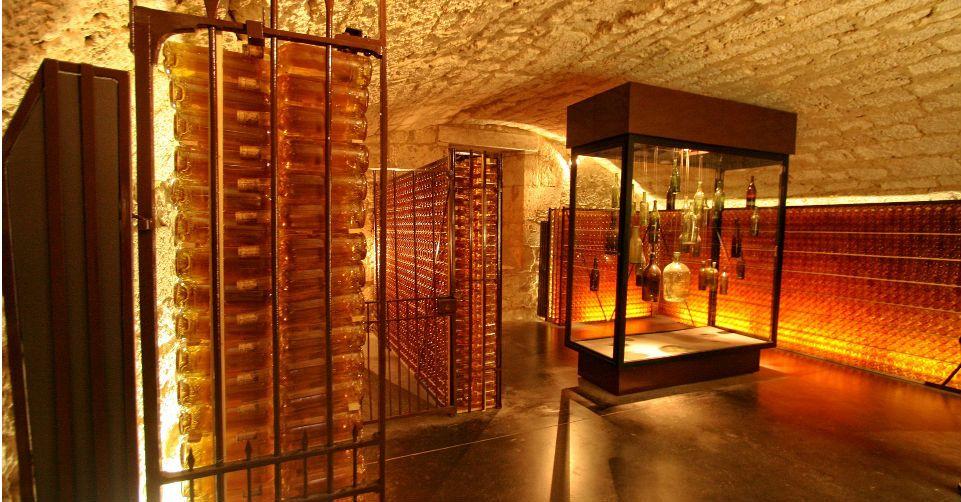 Visite de la cave du Château, Monbazillac