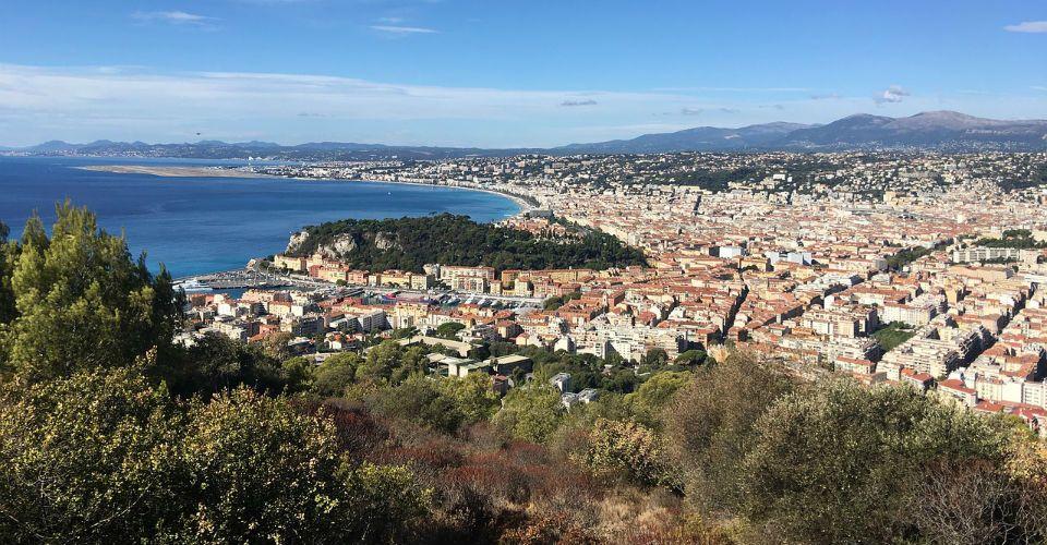 Vue aérienne de Nice, Nice