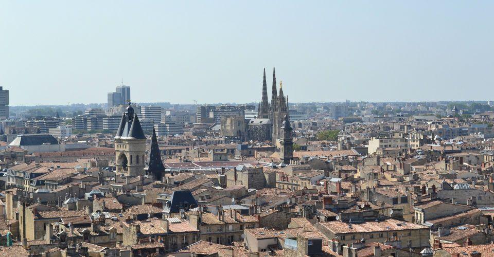 Vue aérienne de Bordeaux, Bordeaux